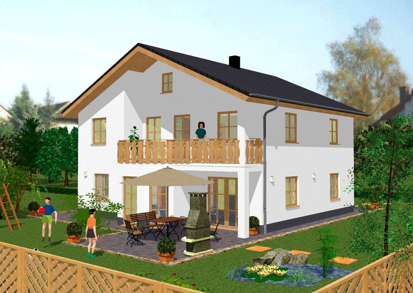 Klassisches haus modell k2 231 gesamtwohnfl che 174 2 for Einfamilienhaus klassisch