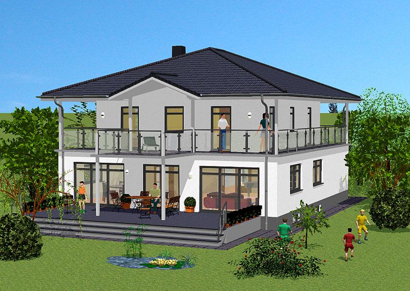 Mediterranes haus bauen for Haus modell bauen