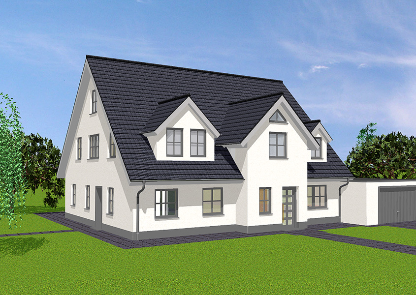 haus f d gro familie modell z 259 elw gesamtwohnfl che 267 5 m rhein main hausbau gmbh. Black Bedroom Furniture Sets. Home Design Ideas